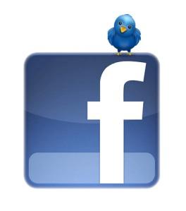 Facebok y Twitter, los reyes de las redes sociales.
